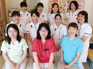 小児歯科も全て女性スタッフです